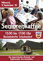 Seniorenkaffee im September 2020