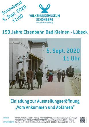 Ausstellung - 150 Jahre Eisenbahn Bad Kleinen - Lübeck