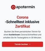 Corona Schnelltest inklusive Zertifikat in Schönberg bei der Efeu-Apotheke