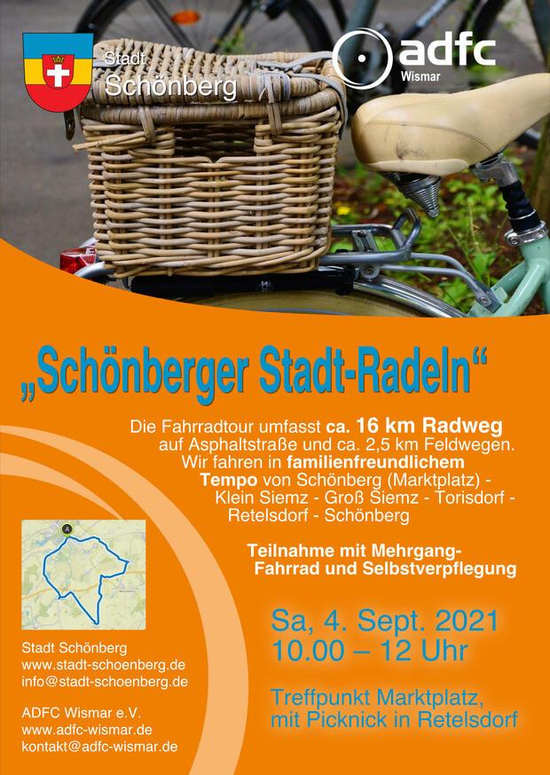 Schönberger Stadtradeln am 4.9.21