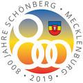 Logo Jubiläum 800 Jahre Stadt Schönberg in Mecklenburg