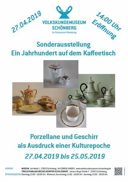 Sonderausstellung: Ein Jahrhundert auf dem Kaffeetisch 27.4.-25.5. 2019
